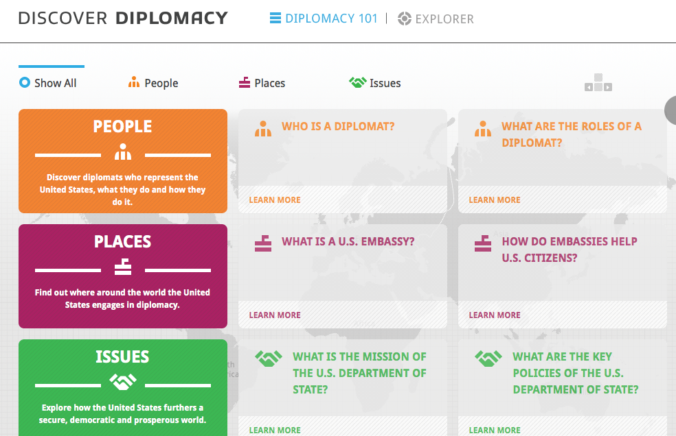 Discover Diplomacy